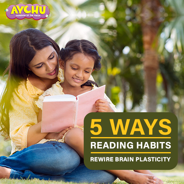 5 Ways Reading Habits Rewire Brain Plasticity