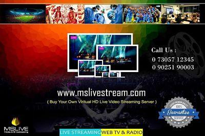 Online Live Webcasting Chennai